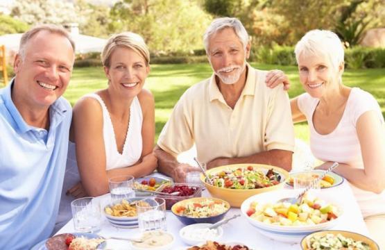 Bons hábitos alimentares na terceira idade